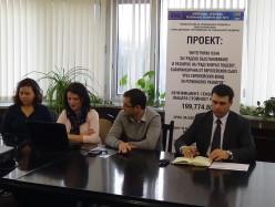 Публична среща във връзка с реализация на плана за градско развитие