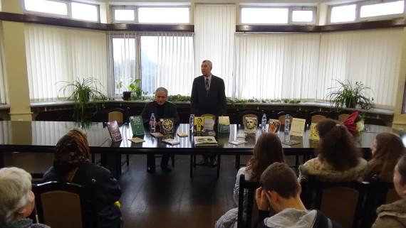 При изключителен интерес премина представянето на книга, посветена на Каравелов и Левски