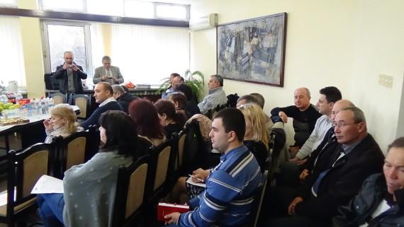 Встъпителна конференция по проект за повишаване квалификацията на общинските служители