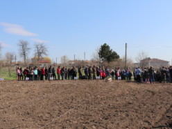 Мащабно залесяване на общински терен по случай Световния ден на гората се проведе в Генерал Тошево